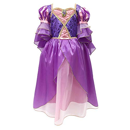 Disney Rapunzel Costume for Girls – Tangled, Size 5/6 Purple