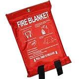 3 x de liberación rápida manta del fuego extinguidor burrda cuadriaxial