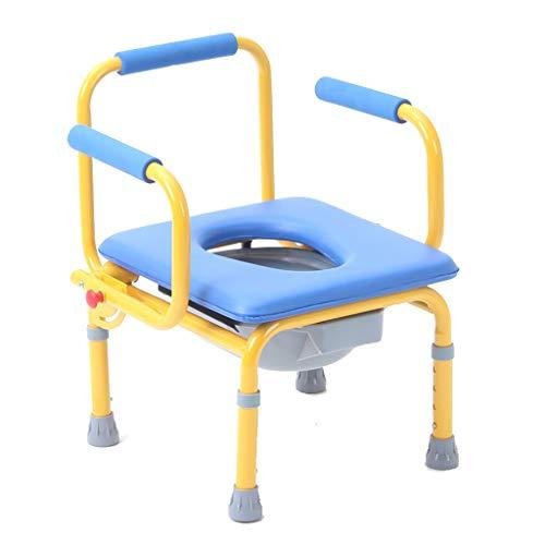 Opvouwbare toiletpot voor kinderen, in hoogte verstelbaar, ouderen toiletpot, kinderstoel, Senior