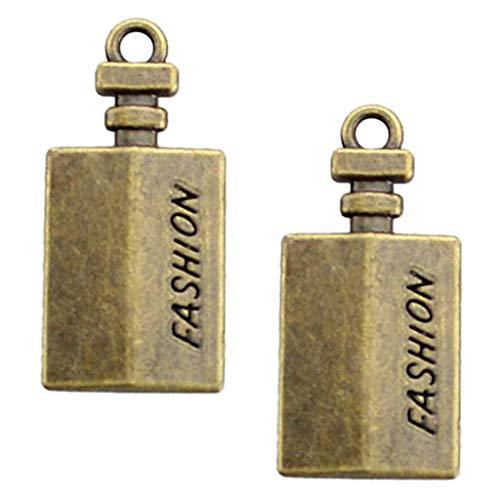 IPOTCH 10Pcs Mischform Design Charms Anhänger Schmuck Beads DIY Schmuck Basteln - Quader, 20-37mm