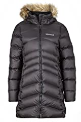 Fabric: 100% polyester with DWR finish Full zipper closure Regular fit 700-fill power down with down defender Zip-off down-insulated hood with removable fur ruff