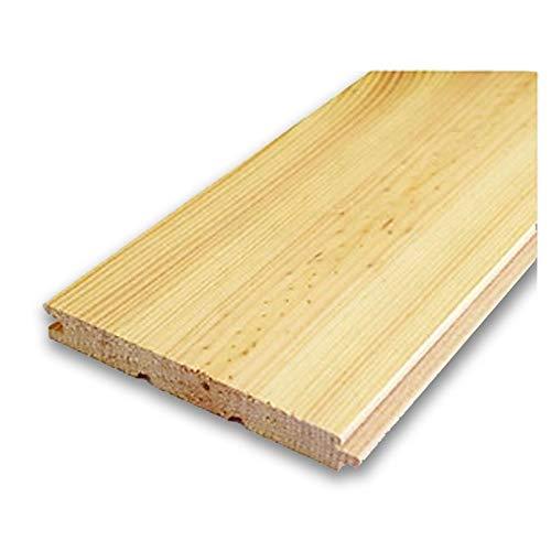 【クリアオイル塗装】北欧レッドパイン 無垢フローリング 床材 エンドマッチ 15x112x3850mm 8枚入
