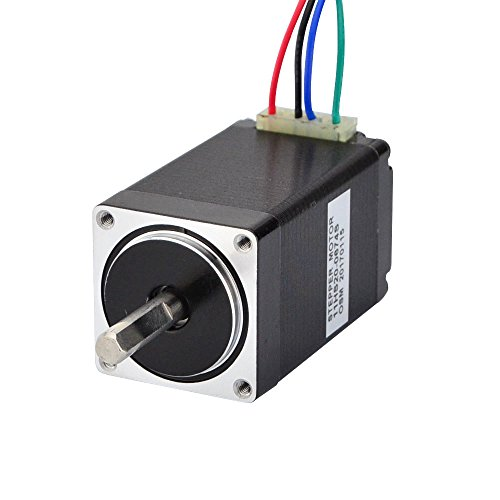 Stepperonline Nema 11 Motore passo-passo 12 Ncm 0.67A Bipolar 1.8 deg 28 x 51 mm, 4 fili per stampante 3D, fresa CNC