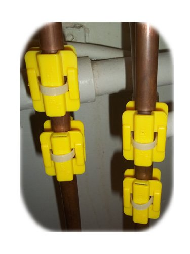 Magnetischer Wasseraufbereiter zur Entfernung von Kalkablagerungen, 4 Stück