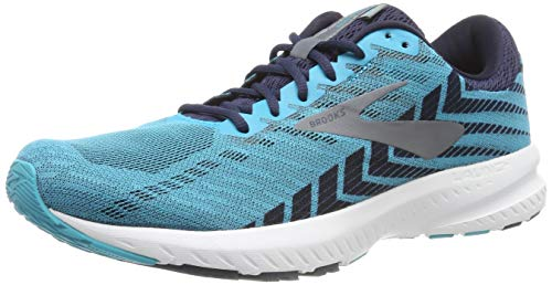 Brooks Launch 6, Scarpe da Running Uomo, Multicolore (Bluebird/Peacoat/Shade 435), 40.5 EU