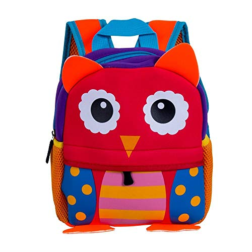 CSXM Pencil case Schoolbag Tier Kleinkind Kinder Junge Mädchen 3D Cartoon Kindergarten Kleine Taschen Niedliche Babytasche Tierrucksack Auf Büroarbeitsreise Camping Usw. Anwenden-C