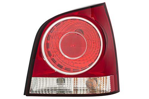 HELLA 2VP 965 303-081 Heckleuchte - Glühlampe - glasklar/rot - rechts - für u.a. VW Polo (9N_)