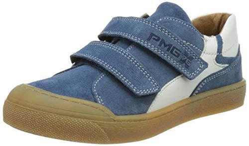 PRIMIGI Jungen Ptm 74275 Sneaker, Bluette Bianco, 24 EU