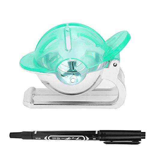 keyren Marcador de Bolas de Accesorios de Golf, Herramienta de Dibujo, 3 Colores para Interiores y Exteriores para golfistas(Green)
