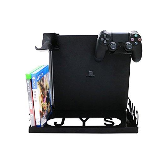 YockTec Xbox One X/Xbox One S Soporte de pantalla para montaje en pared, Soporte Vertical Console,...