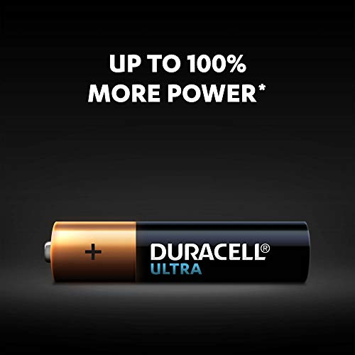 Duracell Ultra AAA Batteries, Pack of 8