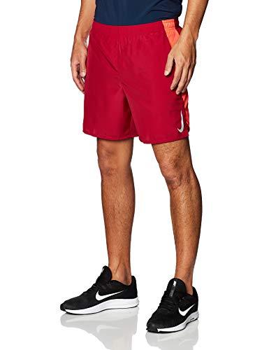 NIKE AJ7741-620 Pantalones Cortos Deportivos, Noble Red/Laser Crimson/Reflective Silver, M Mens