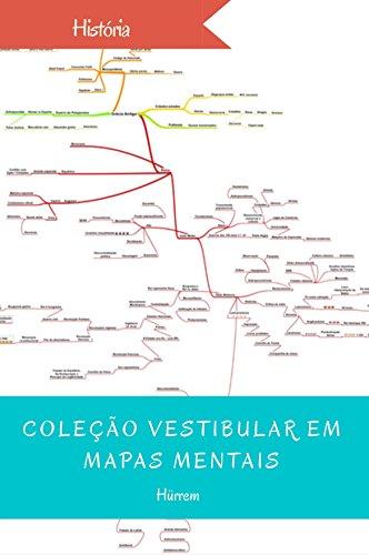 História (Coleção vestibular em mapas mentais) (Portuguese Edition)