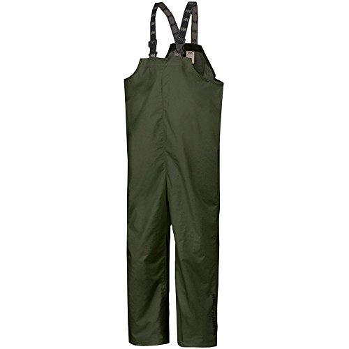 Helly-Hansen Men's Workwear Mandal Bib Pant, Army Green - L