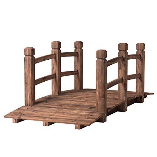 Costway -   Holzbrücke