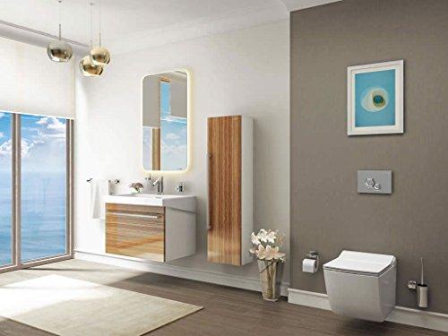 Creavit Hänge Dusch Wc Taharet Bidet Taharat Intimdusche TP324 inkl. Soft-Close WC Deckel