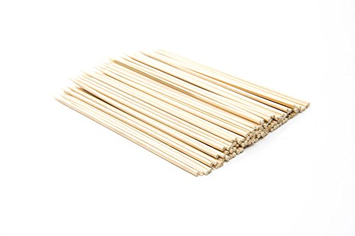 "Fox Run 5476 Bamboo Skewers, 6"", Brown"