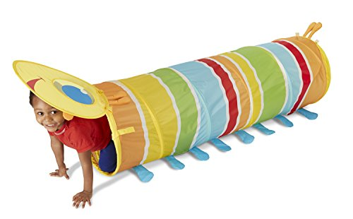 Review Of Melissa & Doug Sunny Patch Giddy Buggy Crawl-Through Tunnel (almost 5 feet long)