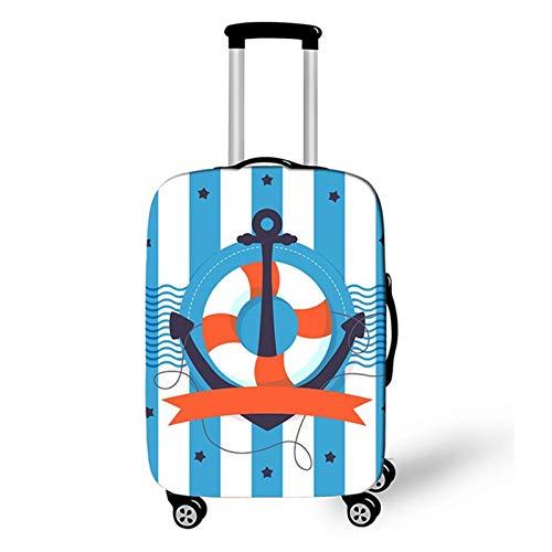 WSJMJ - Funda protectora para maleta, lavable - Home Elástica Suitcase Cover Protectora Maleta Protectora Maleta Maleta Protectora Maleta Protectora Para Maletas De 18 a 32 Pulgadas, D,XL