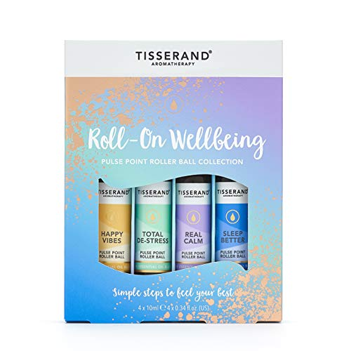 Tisserand Aromatherapie Roll-On Wellbeing Roller Ball Collection, 164 g
