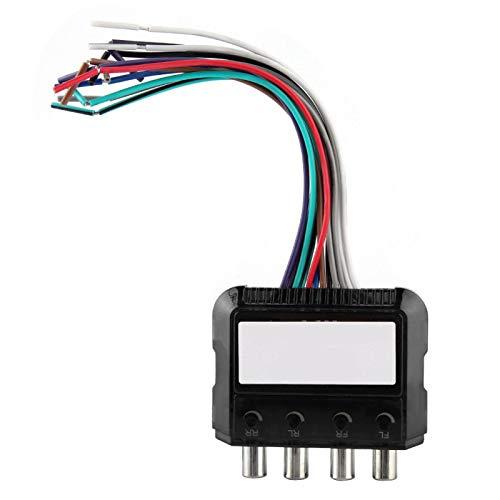 Audio de alto a bajo Convertidor de audio Subwoofer estéreo premium necesario Alto para DVD para automóvil