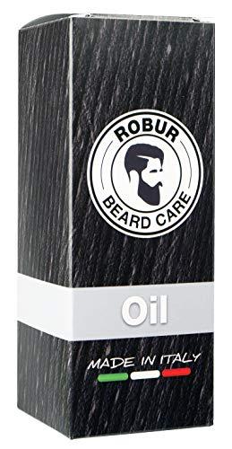 Olio da barba ROBUR con puri olii essenziali. Per una...