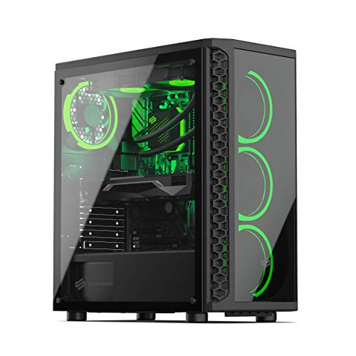 Sedatech PC Gaming Expert Intel i7-9700KF 8X 3.6Ghz, Geforce RTX 3060 12Gb, 16Gb RAM DDR4, 500Gb SSD NVMe M.2 PCIe, 2Tb HDD, USB 3.1, WiFi. Ordenador de sobremesa, Win 10