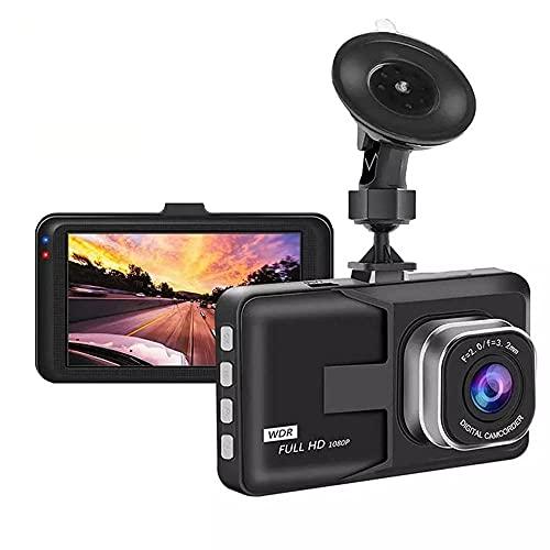 Dash Cam 1080p und 3-Zoll-große Screen-Auto-Kamera, dashcam mit 140 ° Weitwinkellinsen- und -schleifenaufzeichnung, dashcam-Kamera mit Nachtsicht, G-Sensor, Parküberwachung und Bewegungserkennung