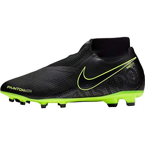 Nike Phantom Vision PRO Dynamic Fit Fg, Scarpe da Calcio Uomo, Multicolore (Black/Black/Volt 7), 42.5 EU