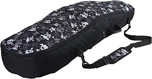 Witan SNOWBOARDTASCHE Snowboard Tasche Boardbag 125 135 145 cm BERGA (135cm, E - Skulls)
