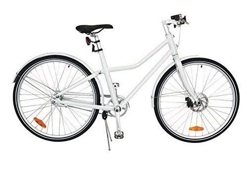Tom City Bike Deluxe 28 Zoll 48 cm Unisex 2G Scheibenbremse Weiß