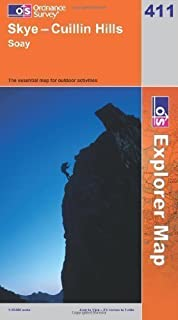 Skye: Cuillin Hills - Soay (OS Explorer Map Series) by Ordnance Survey A1 edition (2007)