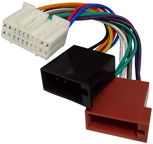 AERZETIX: Fascio adattatore - Cavo cablaggio - Spina ISO - Per autoradio -C11917