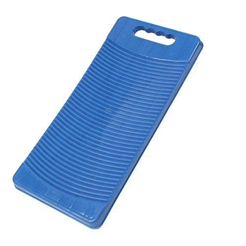DealMux plástico Corrugado de Hogares de lavandería Lavar la Ropa Lavada a Mano de Limpieza Tabla de Lavar Azules