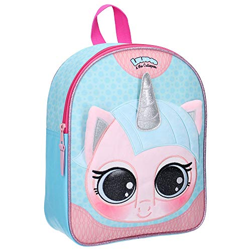 Lulupop Lulupop & The Cutiepies Magical Fur Animal 3D Backpack - Unicorn kinderrugzak 31 centimeter 10 meerkleurig (multicolour)