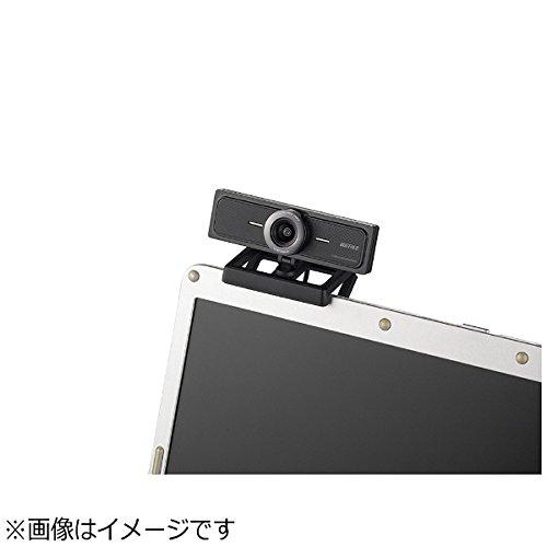 『BUFFALO 200万画素WEBカメラ 広角120°マイク内蔵 ブラック BSW200MBK』の2枚目の画像