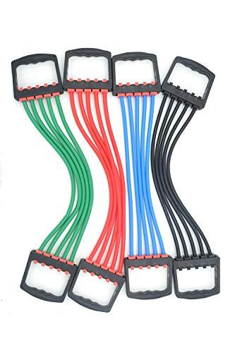 PowerLife® Verstellbarer Chest Expander Handgreifer 5 Federn Muscle Pull Exerciser Training Multifunktions Trainingsgerät Einstellbare Zugkraft Hometraining