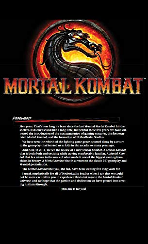 Mortal Kombat Official Cheats,Tips,Moves Game Guide (English Edition)