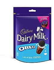 Cadbury Dairy Milk Chocolate Minis With Oreo Cookies Filling, 188 gm