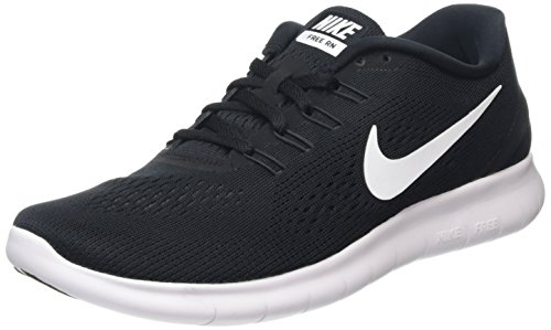 Nike Mens Free Rn Black/White/Anthracite Running Shoe 11 Men US