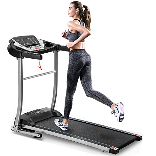 Best Prices! EiioX Folding Treadmill Quiet Electric Walking Running Exercise Fitness Machine with LC...