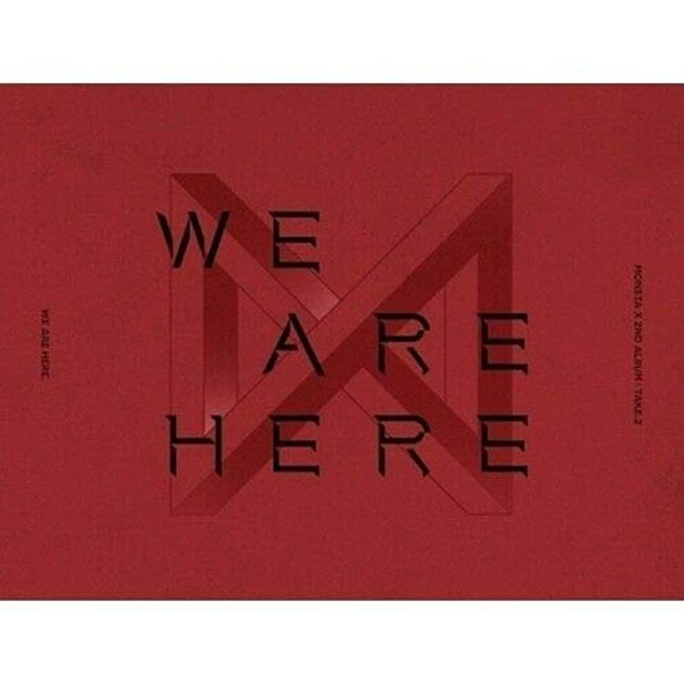 Monsta X - [Take.2 We are Here] 2nd Album Ver.III CD+1p Poster+134p Booklet+PhotoCard+Pre-Order Benefit(1p Unit PhotoCard+1p Clear Special Card+1p Polaroid)+Extra PhotoCard Set+Tracking K-POP Sealed