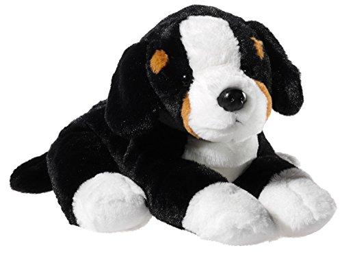 Heunec 304277 Plüschtier, Hund, Berner Sennehund, schwarz/braun/weiß
