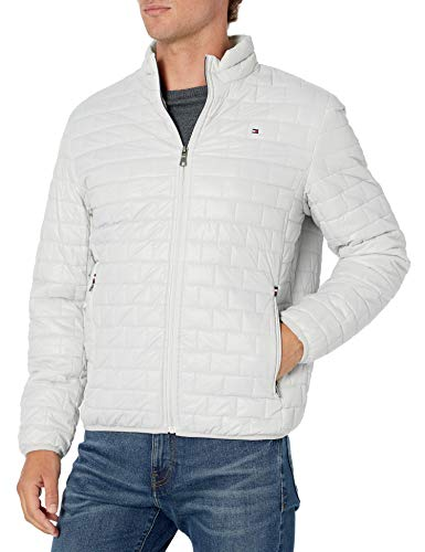 Tommy Hilfiger Leichte gesteppte Jacke für Herren - Weiß - Medium