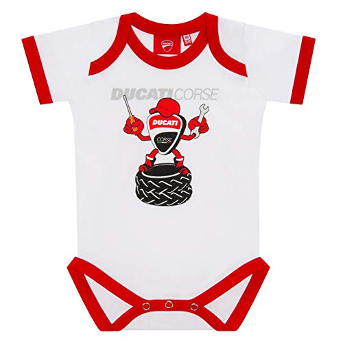 Ducati Corse 2019 Racing MotoGP Baby Vest Romper maten 56-92cm Peuter Kids