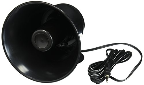 "Outdoor Trumpet Car Horn Speaker - 5"" Pa Horn Speaker w/ 8 Ohms..."