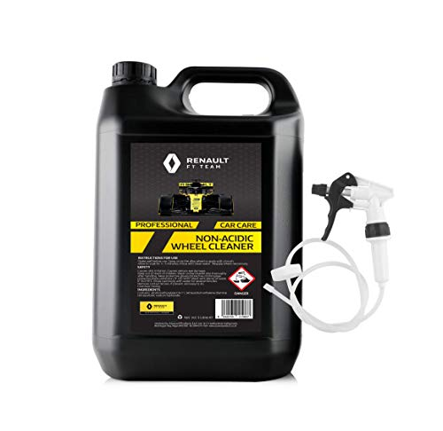 Renault F1 5 Litre Non Acidic Wheel Cleaner Safe to use on all type of...