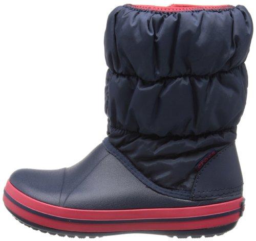 crocs Winter Puff Boot Kids, Blau - 6