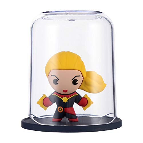 marvel toothbrush holders MINISO Marvel Color Gargle Cups Wash Cup Kids Toothbrush and Toothpaste Holder Mug Bathroom Countertop Organizer - Captain Marvel