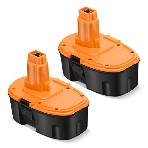 Upgraded 2 Pack 3.8Ah 18V DC9098 DC9096 Replacement Battery Compatible with Dewalt 18 Volt Battery XRP DC9096 DC9099 DC9098 DW9099 DW9098 Cordless Power Tools